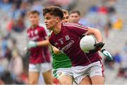 11 August 2018; Paul Kelly of Galway during the Electric Ireland GAA Football All-Ireland Minor Championship semi-final match between Galway and Meath at Croke Park in Dublin. Photo by Brendan Moran/Sportsfile