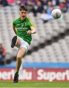 11 August 2018; Luke Mitchell of Meath during the Electric Ireland GAA Football All-Ireland Minor Championship semi-final match between Galway and Meath at Croke Park in Dublin. Photo by Brendan Moran/Sportsfile