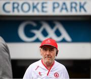 12 August 2018; Tyrone manager Mickey Harte prior to the GAA Football All-Ireland Senior Championship semi-final match between Monaghan and Tyrone at Croke Park in Dublin. Photo by Stephen McCarthy/Sportsfile