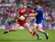 12 August 2018; Kieran McGeary of Tyrone in action against Karl O'Connell of Monaghan during the GAA Football All-Ireland Senior Championship semi-final match between Monaghan and Tyrone at Croke Park in Dublin. Photo by Ray McManus/Sportsfile