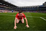 12 August 2018; Colm Cavanagh of Tyrone following the GAA Football All-Ireland Senior Championship semi-final match between Monaghan and Tyrone at Croke Park in Dublin. Photo by Stephen McCarthy/Sportsfile
