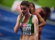 12 August 2018; Ciara Mageean of Ireland after finishing fourth in the Women's 1500m Final during Day 6 of the 2018 European Athletics Championships at The Olympic Stadium in Berlin, Germany. Photo by Sam Barnes/Sportsfile