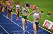 12 August 2018; Ciara Mageean of Ireland, second from right,  dejected as she finishes fourth in the Women's 1500m Final during Day 6 of the 2018 European Athletics Championships at The Olympic Stadium in Berlin, Germany. Photo by Sam Barnes/Sportsfile