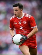 12 August 2018; Lee Brennan of Tyrone during the GAA Football All-Ireland Senior Championship semi-final match between Monaghan and Tyrone at Croke Park in Dublin. Photo by Stephen McCarthy/Sportsfile