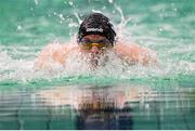 13 August 2018; Simon Boer of Netherlands during the Men's 200m Individual Medley SM8 Heat 1 during day one of the World Para Swimming Allianz European Championships at the Sport Ireland National Aquatic Centre in Blanchardstown, Dublin. Photo by Stephen McCarthy/Sportsfile