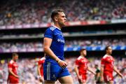 12 August 2018; Niall Kearns of Monaghan during the pre-parade parade prior to the GAA Football All-Ireland Senior Championship semi-final match between Monaghan and Tyrone at Croke Park in Dublin. Photo by Brendan Moran/Sportsfile