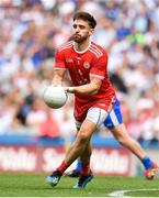 12 August 2018; Padraig Hampsey of Tyrone during the GAA Football All-Ireland Senior Championship semi-final match between Monaghan and Tyrone at Croke Park in Dublin. Photo by Brendan Moran/Sportsfile