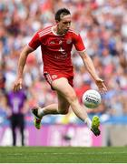 12 August 2018; Colm Cavanagh of Tyrone during the GAA Football All-Ireland Senior Championship semi-final match between Monaghan and Tyrone at Croke Park in Dublin. Photo by Brendan Moran/Sportsfile
