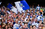 12 August 2018; Monaghan and Tyrone fans watch the final moments of the GAA Football All-Ireland Senior Championship semi-final match between Monaghan and Tyrone at Croke Park in Dublin. Photo by Brendan Moran/Sportsfile