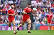 12 August 2018; Richard Donnelly of Tyrone during the GAA Football All-Ireland Senior Championship semi-final match between Monaghan and Tyrone at Croke Park in Dublin. Photo by Ramsey Cardy/Sportsfile