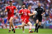 12 August 2018; Kieran McGeary of Tyrone during the GAA Football All-Ireland Senior Championship semi-final match between Monaghan and Tyrone at Croke Park in Dublin. Photo by Ramsey Cardy/Sportsfile