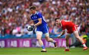 12 August 2018; Darren Hughes of Monaghan in action against Connor McAliskey of Tyrone during the GAA Football All-Ireland Senior Championship semi-final match between Monaghan and Tyrone at Croke Park in Dublin. Photo by Ramsey Cardy/Sportsfile