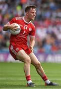12 August 2018; Kieran McGeary of Tyrone during the GAA Football All-Ireland Senior Championship semi-final match between Monaghan and Tyrone at Croke Park in Dublin. Photo by Ray McManus/Sportsfile