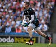 12 August 2018; Rory Beggan of Monaghan during the GAA Football All-Ireland Senior Championship semi-final match between Monaghan and Tyrone at Croke Park in Dublin. Photo by Ray McManus/Sportsfile