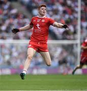 12 August 2018; Cathal McShane of Tyrone during the GAA Football All-Ireland Senior Championship semi-final match between Monaghan and Tyrone at Croke Park in Dublin. Photo by Ray McManus/Sportsfile