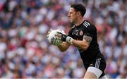 12 August 2018; Niall Morgan of Tyrone  during the GAA Football All-Ireland Senior Championship semi-final match between Monaghan and Tyrone at Croke Park in Dublin. Photo by Ray McManus/Sportsfile