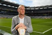 14 August 2018; Former Galway hurler Cyril Donnellan at the launch of the highly anticipated 2018 Croke Park Charity Challenge, organised by Alan Kerins in partnership with Self Help Africa. The event will see people from the world of business,sport, media and entertainment  partake in a charity sporting spectacle on the 23rd October to raise funds for Self Help Africa. Alan Kerins was joined by Uachtarán Chumann Lúthchleas Gael John Horan, Peter McDevitt, CFO, Self Help Africa, former Kerry footballer Tomás O'Sé, former Cork hurler and footballer Seán Óg Ó hAilpín, former Galway hurler Cyril Donnellan, Mayo footballer Jason Doherty, and Rory O'Connor of Rory's Stories at today's launch. Further information available at: https://selfhelpafrica.org/ie/charity-croke-park-challenge/. Croke Park, Dublin. Photo by Piaras Ó Mídheach/Sportsfile