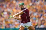 5 August 2018; Niall Burke of Galway during the GAA Hurling All-Ireland Senior Championship semi-final replay match between Galway and Clare at Semple Stadium in Thurles, Co Tipperary. Photo by Ray McManus/Sportsfile