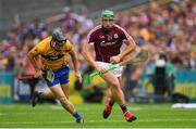 5 August 2018; Niall Burke of Galway during the GAA Hurling All-Ireland Senior Championship Semi-Final Replay match between Galway and Clare at Semple Stadium in Thurles, Co Tipperary. Photo by Ramsey Cardy/Sportsfile