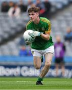 11 August 2018; Conor Farrelly of Meath during the Electric Ireland GAA Football All-Ireland Minor Championship semi-final match between Galway and Meath at Croke Park in Dublin. Photo by Ray McManus/Sportsfile