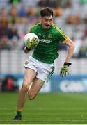 11 August 2018; Luke Mitchell of Meath during the Electric Ireland GAA Football All-Ireland Minor Championship semi-final match between Galway and Meath at Croke Park in Dublin. Photo by Ray McManus/Sportsfile