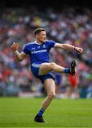 12 August 2018; Conor McManus of Monaghan kicks a free during the GAA Football All-Ireland Senior Championship semi-final match between Monaghan and Tyrone at Croke Park in Dublin. Photo by Ray McManus/Sportsfile