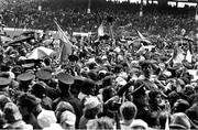 2 September 1973; The Limerick team and supporters celebrate on the pitch after the All Ireland Hurling Final match between Kilkenny and Limerick Croke Park in Dublin. Photo by Connolly Collection/Sportsfile