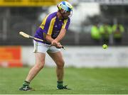 14 August 2018; Michael Duignan, former Offaly hurler, representing Jim Bolger's Stars, during the seventh annual Hurling for Cancer Research game, a celebrity hurling match in aid of the Irish Cancer Society at St Conleth's Park, in Newbridge. The event, organised by legendary racehorse trainer Jim Bolger and National Hunt jockey Davy Russell, has raised €700,000 to date to fund the Irish Cancer Society's innovative cancer research projects. The final score was: Davy Russell's Best 5-20 to Jim Bolger's Stars: 6-12. Photo by Piaras Ó Mídheach/Sportsfile