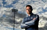 16 August 2018; Dean Rock of Dublin poses for a portrait during a Dublin Football Press Conference ahead of GAA Football All-Ireland Senior Championship Final at Parnell Park, in Dublin. Photo by Brendan Moran/Sportsfile