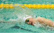 17 August 2018; Patrick Flanagan of Ireland competing in the heats of the Men's 400m Freestyle S6 event during day five of the World Para Swimming Allianz European Championships at the Sport Ireland National Aquatic Centre in Blanchardstown, Dublin. Photo by David Fitzgerald/Sportsfile