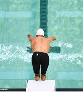 17 August 2018; Theo Curin of France competes in the heats of the Men's 50m Freestyle event during day five of the World Para Swimming Allianz European Championships at the Sport Ireland National Aquatic Centre in Blanchardstown, Dublin. Photo by Stephen McCarthy/Sportsfile
