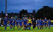 17 August 2018; The Leinster team leave the pitch after the Bank of Ireland Pre-season Friendly match between Leinster and Newcastle Falcons at Energia Park in Dublin. Photo by Brendan Moran/Sportsfile