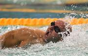 17 August 2018; Rory O'Connor competing in the Charity race event during day five of the World Para Swimming Allianz European Championships at the Sport Ireland National Aquatic Centre in Blanchardstown, Dublin. Photo by David Fitzgerald/Sportsfile