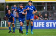 17 August 2018; Max Deegan of Leinster during the Bank of Ireland Pre-season Friendly match between Leinster and Newcastle Falcons at Energia Park in Dublin. Photo by Ramsey Cardy/Sportsfile