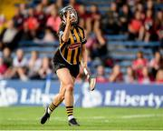 18 August 2018; Katie Power of Kilkenny shoots to score a goal during the Liberty Insurance All-Ireland Senior Camogie Championship semi-final match between Galway and Kilkenny at Semple Stadium in Thurles, Tipperary. Photo by Matt Browne/Sportsfile