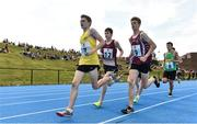 18 August 2018; A general view during the 1500m U16 & O14 Boys event during day one of the Aldi Community Games August Festival at the University of Limerick in Limerick. Photo by Sam Barnes/Sportsfile