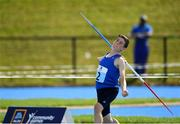 18 August 2018; David Scanlon of Mahon Valley, Co. Waterford competing in the Javelin U14 event during day one of the Aldi Community Games August Festival at the University of Limerick in Limerick. Photo by Harry Murphy/Sportsfile