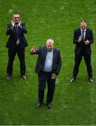 19 August 2018; Gary Kirby of Limerick is honoured as part of the hurling heroes of the 1990s prior to the GAA Hurling All-Ireland Senior Championship Final match between Galway and Limerick at Croke Park in Dublin. Photo by Daire Brennan/Sportsfile