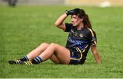 19 August 2018; A dejected Brid Condon of Tipperary after the 2018 TG4 All-Ireland Ladies Senior Football Championship relegation play-off match between Cavan and Galway at Dolan Park in Cavan. Photo by Oliver McVeigh/Sportsfile