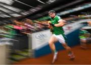 19 August 2018; Kevin Downes of Limerick makes his way onto the pitch prior to the GAA Hurling All-Ireland Senior Championship Final match between Galway and Limerick at Croke Park in Dublin. Photo by Stephen McCarthy/Sportsfile
