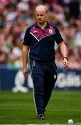 19 August 2018; Galway manager Micheál Donoghue prior to the GAA Hurling All-Ireland Senior Championship Final match between Galway and Limerick at Croke Park in Dublin. Photo by Seb Daly/Sportsfile