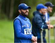 19 August 2018; Tipperary manager Shane Ronayne during the 2018 TG4 All-Ireland Ladies Senior Football Championship relegation play-off match between Cavan and Galway at Dolan Park in Cavan. Photo by Oliver McVeigh/Sportsfile