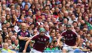 19 August 2018; Galway manager Micheál Donoghue during the GAA Hurling All-Ireland Senior Championship Final match between Galway and Limerick at Croke Park in Dublin.  Photo by Ramsey Cardy/Sportsfile