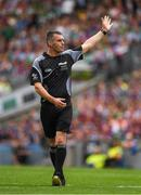 19 August 2018; Referee James Owens during the GAA Hurling All-Ireland Senior Championship Final match between Galway and Limerick at Croke Park in Dublin.  Photo by Ray McManus/Sportsfile