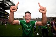 19 August 2018; Kyle Hayes of Limerick celebrates following the GAA Hurling All-Ireland Senior Championship Final match between Galway and Limerick at Croke Park in Dublin. Photo by Stephen McCarthy/Sportsfile
