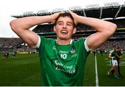 19 August 2018; Gearóid Hegarty of Limerick reacts following the GAA Hurling All-Ireland Senior Championship Final match between Galway and Limerick at Croke Park in Dublin. Photo by Stephen McCarthy/Sportsfile