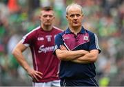 19 August 2018; Galway manager Micheál Donoghue and Joe Canning of Galway following the GAA Hurling All-Ireland Senior Championship Final match between Galway and Limerick at Croke Park in Dublin. Photo by Brendan Moran/Sportsfile