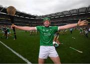 19 August 2018; Shane Dowling of Limerick celebrates after the final whistle of the GAA Hurling All-Ireland Senior Championship Final match between Galway and Limerick at Croke Park in Dublin. Photo by Stephen McCarthy/Sportsfile