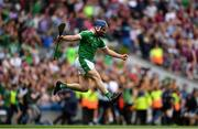 19 August 2018; Richie McCarthy of Limerick celebrates at the final whistle during the GAA Hurling All-Ireland Senior Championship Final match between Galway and Limerick at Croke Park in Dublin.  Photo by Eóin Noonan/Sportsfile