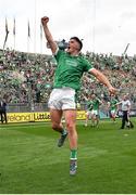 19 August 2018; Darragh O'Donovan of Limerick celebrates following the GAA Hurling All-Ireland Senior Championship Final match between Galway and Limerick at Croke Park in Dublin.  Photo by Seb Daly/Sportsfile